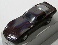 1982 Chevrolet Corvette Dark Claret DEALERSHIP PROMO CAR 1:24 Scale ERTL