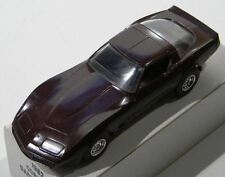 1982 Chevrolet Corvette Dark Claret Dealership Promo Car 1:24 Scale Ertl