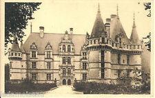 Carte postale, AZAY le RIDEAU, Le Château, non écrite au revers.