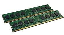 HP Compaq 4GB 2x 2GB DDR2 PC2-6400 Desktop Memory RAM DIMM Non-ECC 5189-2180