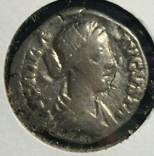 ANCIENT ROMAN SILVER COIN OF LUCILLA