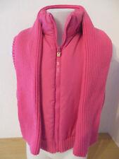 DUCKY BEAU ° hübsche Steppweste mit Schal Gr. 122 pink Mädchen Kleidung Weste