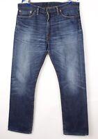 Levi's Strauss & Co Herren 513 Gerades Bein Jeans Größe W36 L32 BCZ108