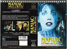 MANIAC: IL VIRUS CHE UCCIDE (1988) vhs ex noleggio THRILLER