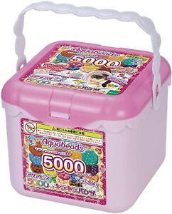 Epoch Set for girls Aqua Beads 5000 Beads Glitter Bucket Set