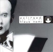 Eclipsed: The Best of Klaus Nomi by Klaus Nomi cd