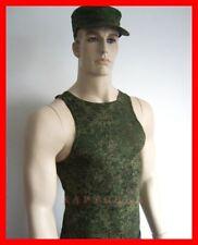 ☆ original ejército ruso uniforme bajo camisa Maika Zifra digital Flora Tank Top
