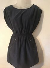 Women's Divided By H&M Blue Comfortable Casual Dress Size 4 Cute!!