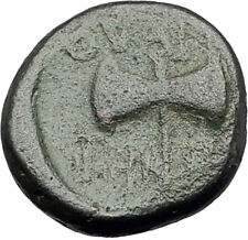 THYATEIRA in LYDIA 200BC Genuine  Authentic Ancient Greek Coin APOLLO AXE i62360