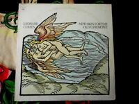 LEONARD COHEN VINYL LP NEW SKIN FOR THE OLD CEREMONY 1974 MASTERSOUND PRESSING