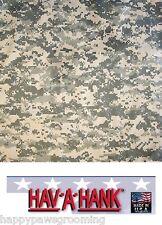 *USA MADE Digital ACU Desert Camo CAMOUFLAGE BANDANA BANDANNA Head Wrap Scarf