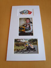 Joey Dunlop Genuine signed authentic autograph