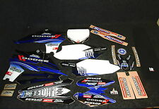 Yamaha YZF450 2010-2013 Team Hart & Huntington graphics + seat cover kit GR1048