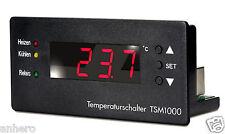 INTERRUTTORE TEMPERATURA tsm1000 con sensore PT1000 filettatura pulsante a