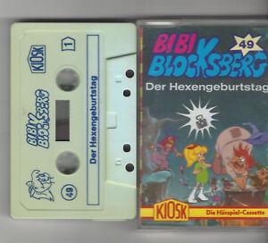 Bibi Blocksberg Kassette  Folge 49 Der Hexengeburtstag alternatives Cover KIOSK