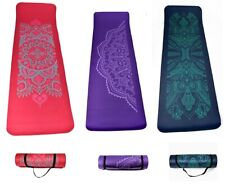 NBR Mandala 12 mm Thick Exercise Fitness Gym Yoga Mat 183cm x 61cm