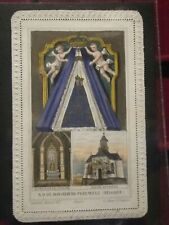 Immages Pieuses Holly card Canivet PERUWELZ N.D de Bonsecours