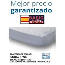Protector de Colchón CORALINA Impermeable y Transpirable ( Diferentes tamaños d