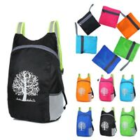 Waterproof Lightweight Folding Bag Travel Backpack Camping Shopping Bag Fold Up