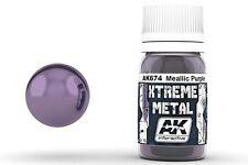 AK Interactive AKI-674 Xtreme Metal Metallic Purple 30ml Bottle