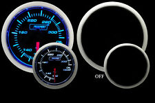 PROSPORT Blue/White Electrical Oil Temperature Gauge-52mm