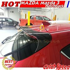 Unpainted OE Style Rear Roof Trunk Spoiler Wing For Mazda 3 2014~2016 Hatchback