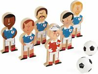 Janod Football Champions. Children's Wooden Soccer Skittles