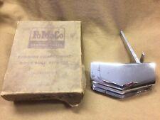 1950 Ford rear deck lid or boot NOS chrome handle 0A-7043539-B, NIB