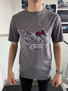 BMW Motorrad R1250GSAdventure T-Shirt Motorcycle Bike Grey 76618403787