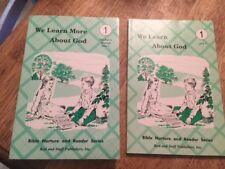 We Learn More About God Teacher's Manual & Reader, Unit 1 Rod and Staff Phonics