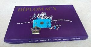 Diplomacy, the top game of international intrigue, Avalon Hill, VGC, Complete
