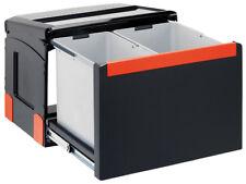 FRANKE Sorter Cube 50 / Automatikauszug Abfalltrennsystem / 1 x 14 l / 1 x 18 l