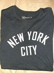 New York Navy T-shirt Tee Size S