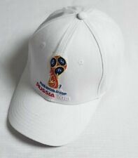 New World Cup Soccer Russia Cup Golf Baseball Adjustable Football Cap Hats White