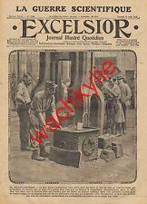 Excelsior n°1740 du 21/08/1915 forgeron canon de 75 Saint-Chamond