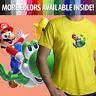 Cute Yoshi Luma Star Unisex Men Tee T-Shirt Super Mario Galaxy Nintendo Wii Game