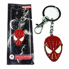 NEW RED MARVEL SPIDERMAN/SPIDER MAN KEYRING/KEYCHAIN PENDANT POCKET FOB WATCH