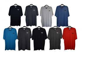 Mens Sport T-shirt Gym Performance Athletic Training Workout Top