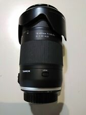Tamron 28-400mm f/3.5-6.3mm Lens For Canon Made in Japan, With Tamron HB028