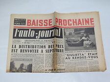 Documentación automóvil - el Auto Journal : 1er Mai 1954