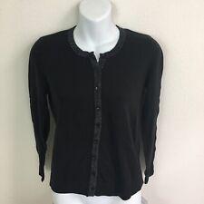 Ann Taylor Loft Womens Black Cardigan Sweater Size SP