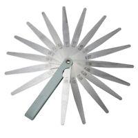 Nuovo 0,02 a 1 mm 17 Spessore lama Gap Filler Metric Spessimetro Strumento  Q5E1