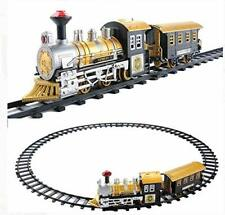 Classic Collection Locomotive Train Set with Light and Sound Battery Operated (8