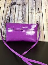Kate Spade WKRU 2467 Pochette Amy Camelia Street Shoulder Patent Leather Bag