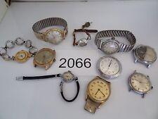 Vintage Jewelry Watch LOT OF 10 REDOX Timex Lucerne Endura    Mechanical  2066