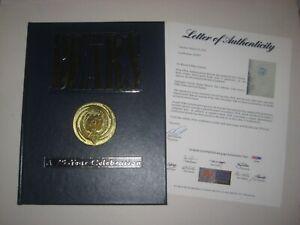 BEARS 75 YEAR CELEBRATION Signed Diamond Edition Book w/ Beckett LOA Incl PAYTON