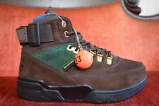 Brand New Ewing 33 Hi Winter Men's Athletic Fashion Sneakers Brown Wheat Green