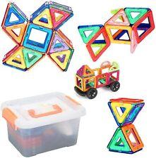 105tlg Magformers Spielzeug 3D Ziegel Magnetische Bausteine Pädagogisches Set