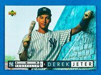 Derek Jeter #550 (1994 Upper Deck) Top Prospects Rookie Card, NY Yankees, HOF