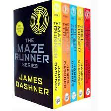 Maze Runner Series 5 Books Children Collection Paperback Set by James Dashner